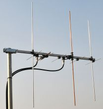 Cross Yagi Satellite - Repeater Dual Band antenna