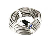 Yaesu rotor kabel 25mtr met connectors